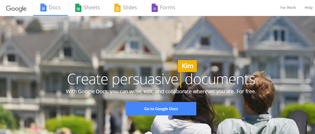 Google docs: Document collaboration platform