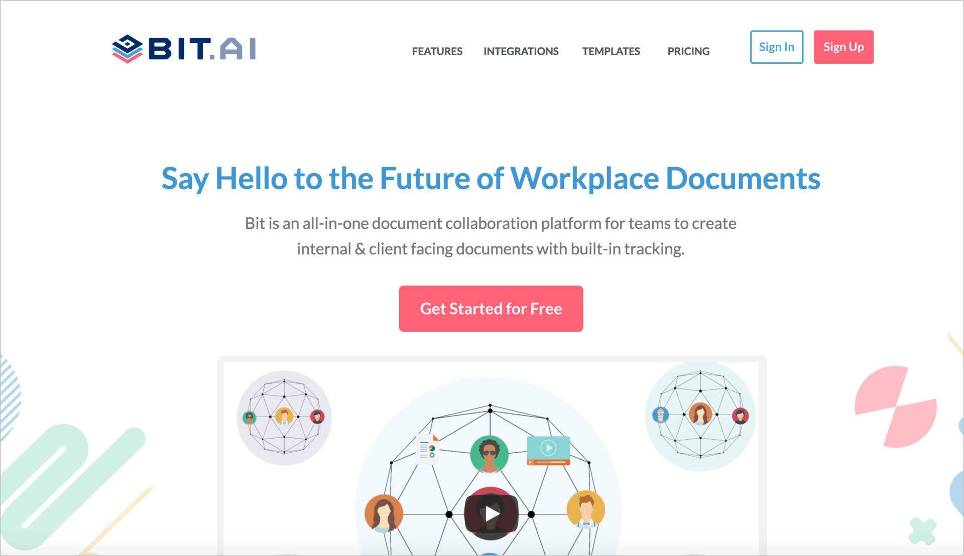 Bit.ai : Document tracking system