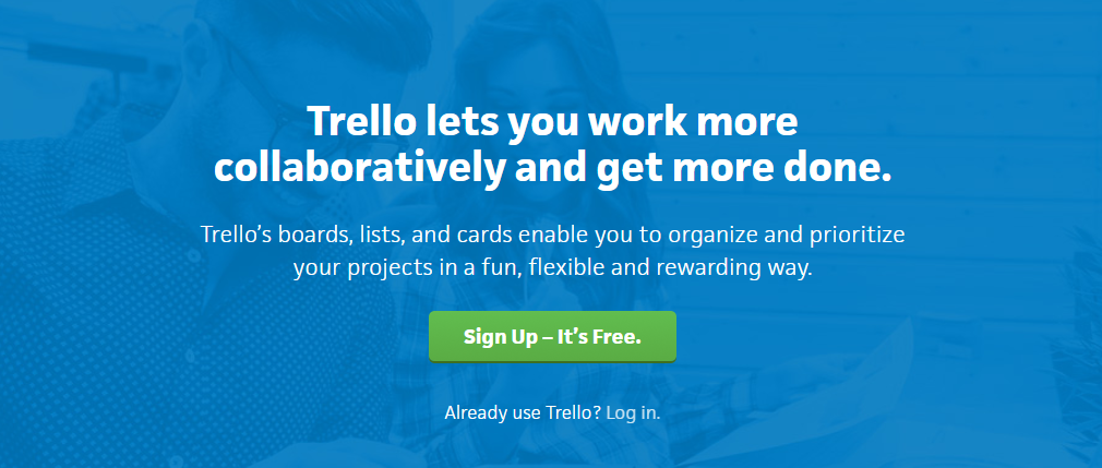 Trello: Online collaboration tool