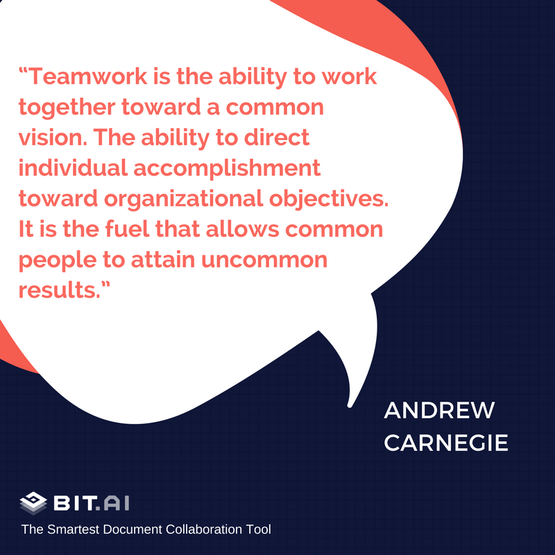 31 Teamwork Quotes That Will Fire Up Your Team