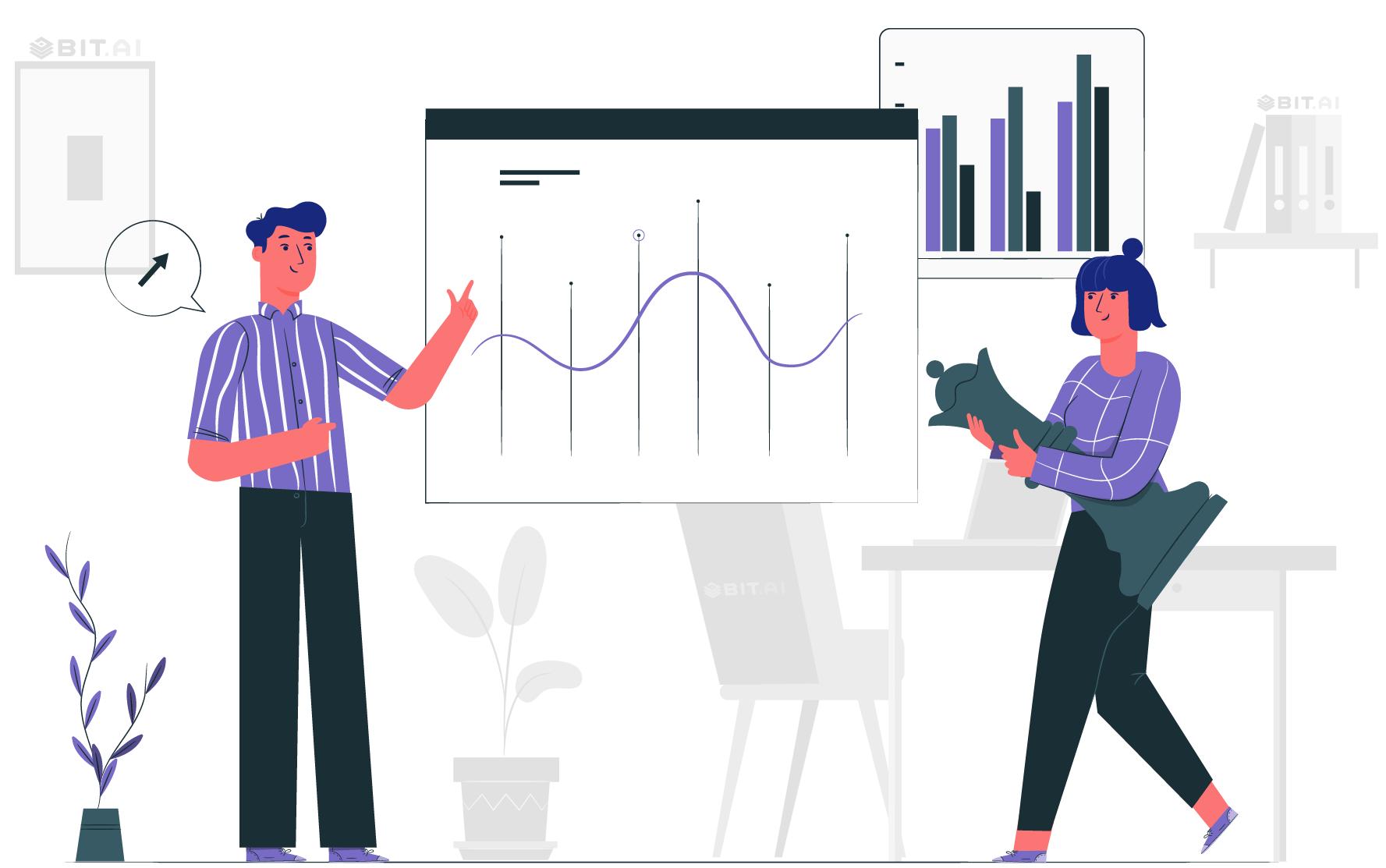 Analytics report of competitor's statistics