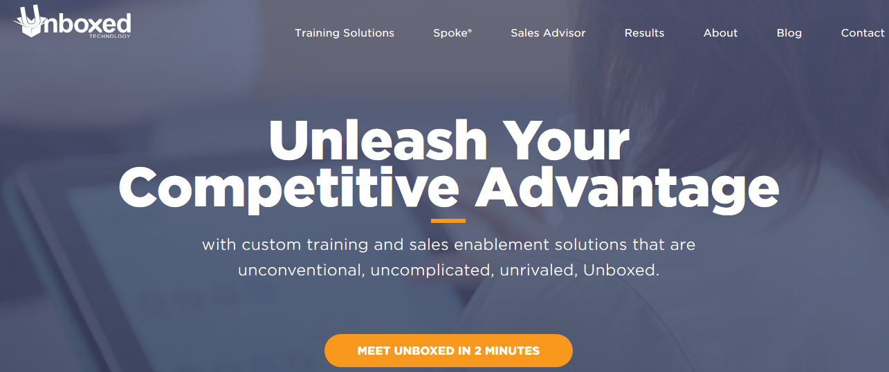 Unboxed Advice: Sales enablement tool