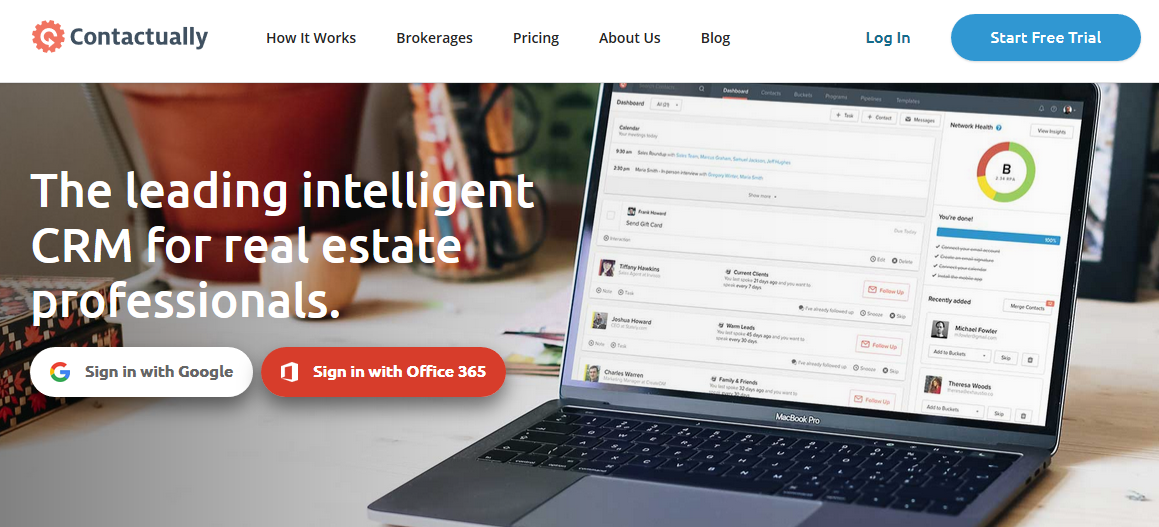 Contactually: Sales enablement tool
