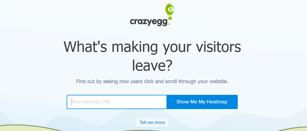 Crazyegg: Sales enablement tooll