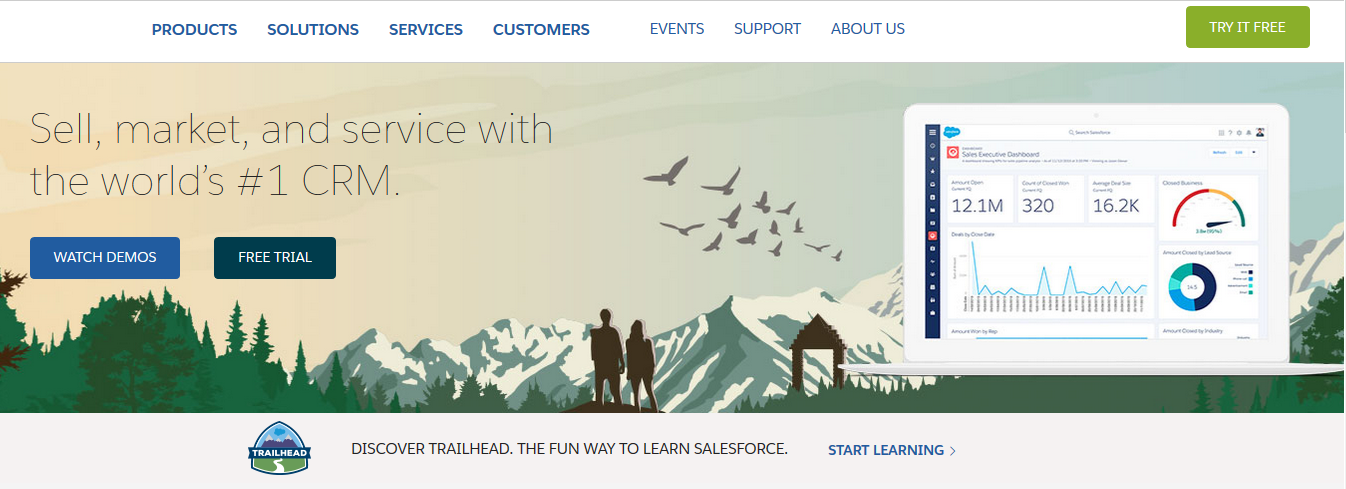 Salesforce: Sales enablement tool
