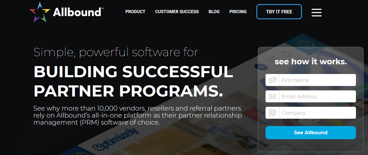Allbound: Sales enablement tool