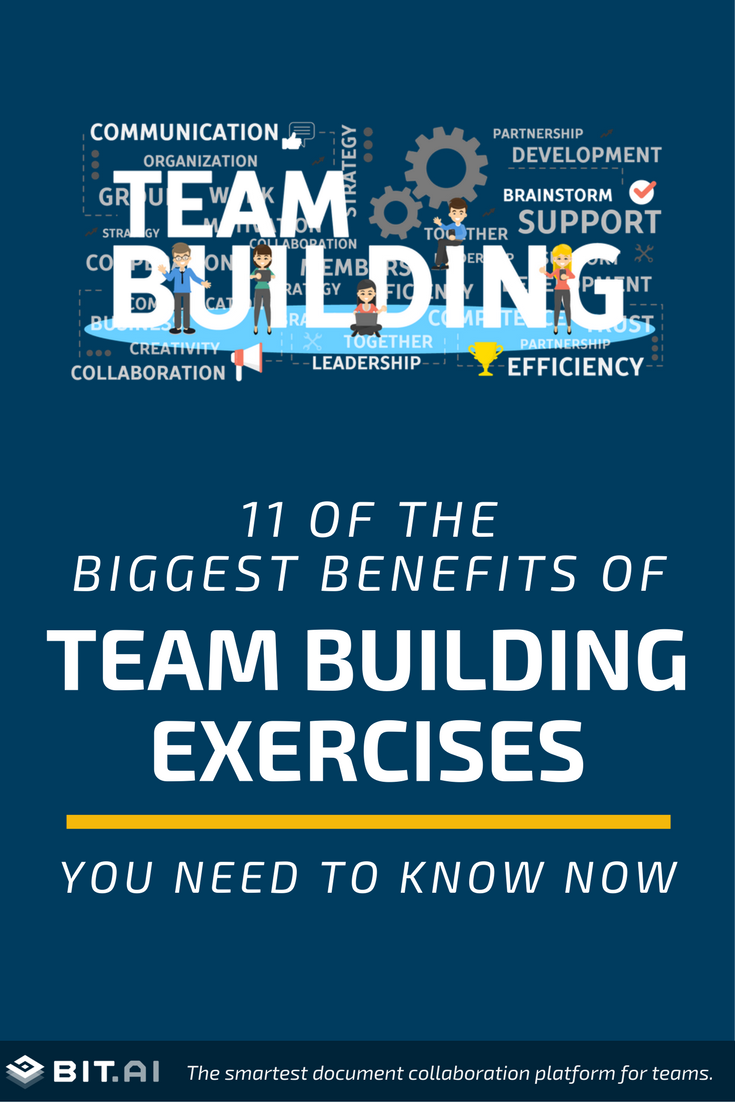 11 of the Biggest Benefits of Team Building Exercises You Need to Know