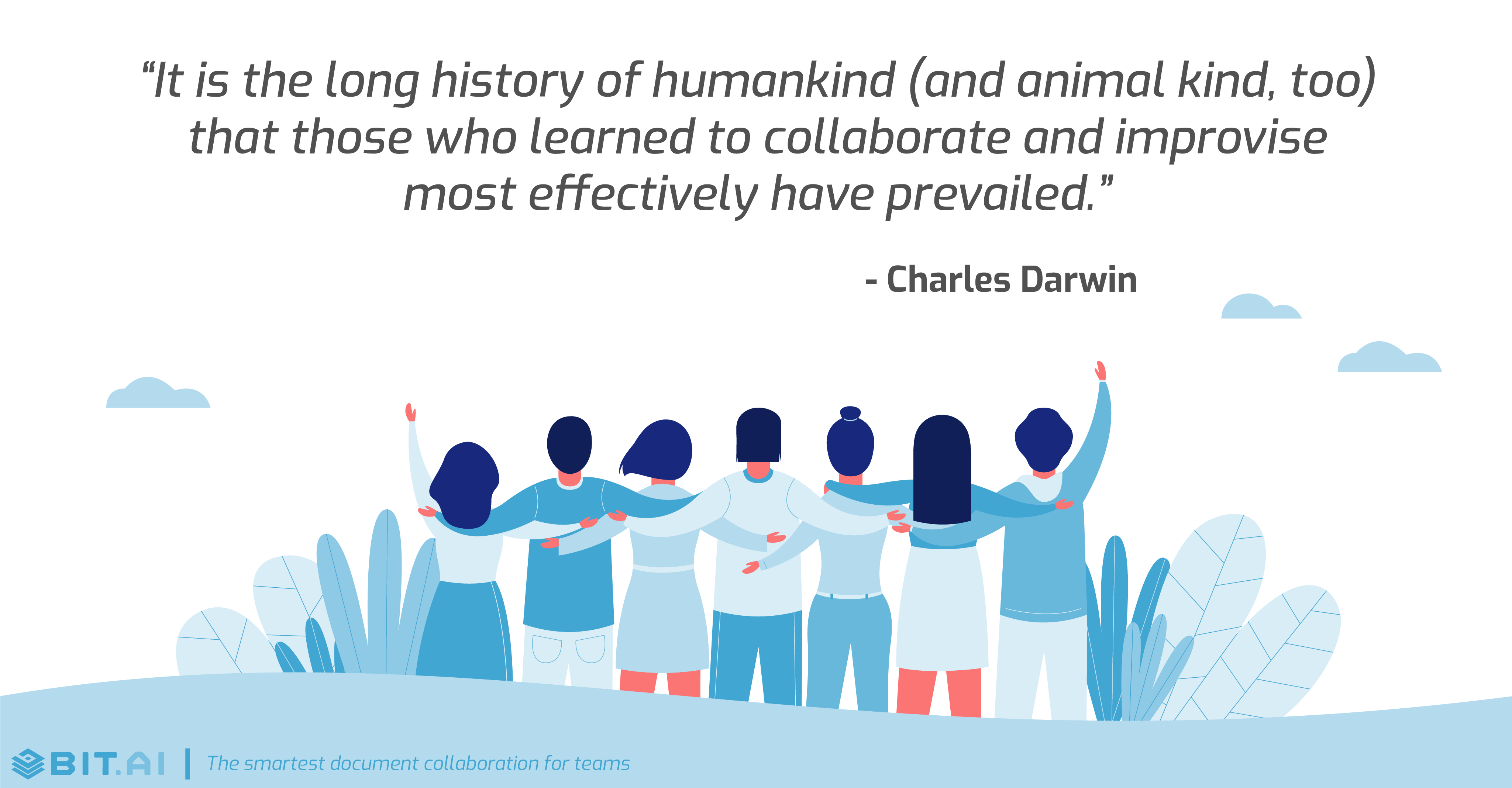 Teamwork collaboration quote by Charles Darwin