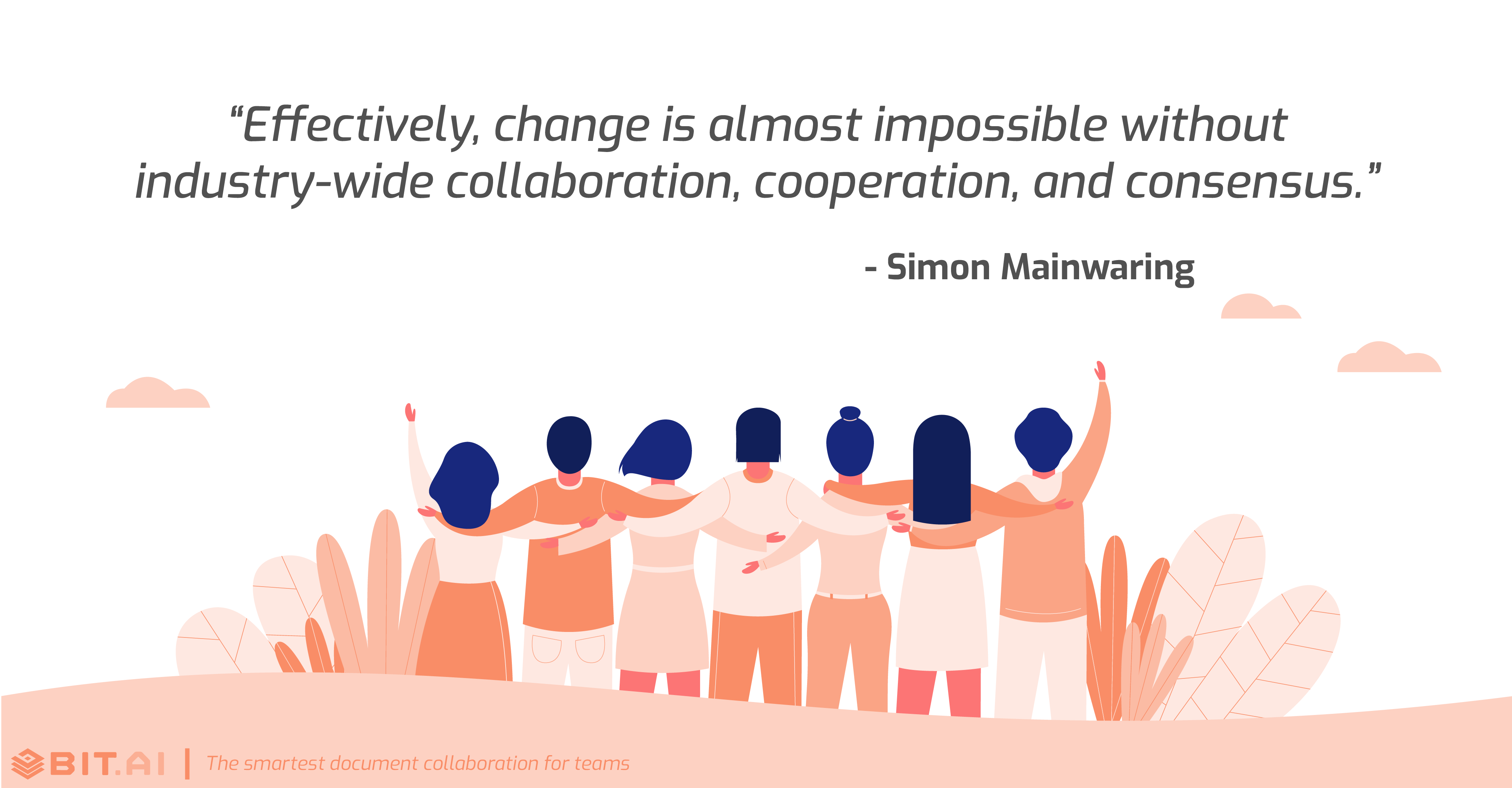 Teamwork collaboration quote by Simon Mainwaring