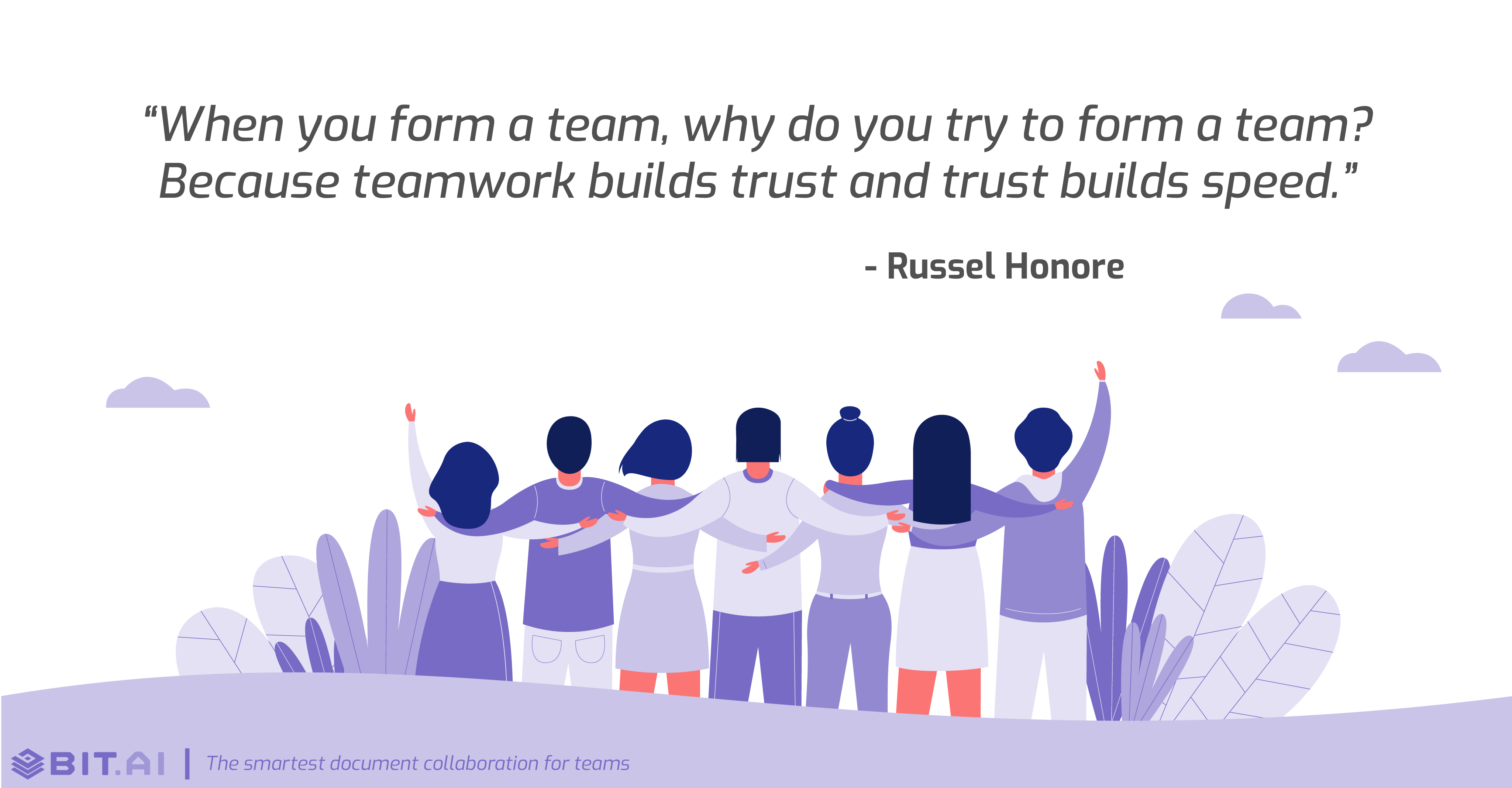 Teamwork collaboration quote by Russel Honore