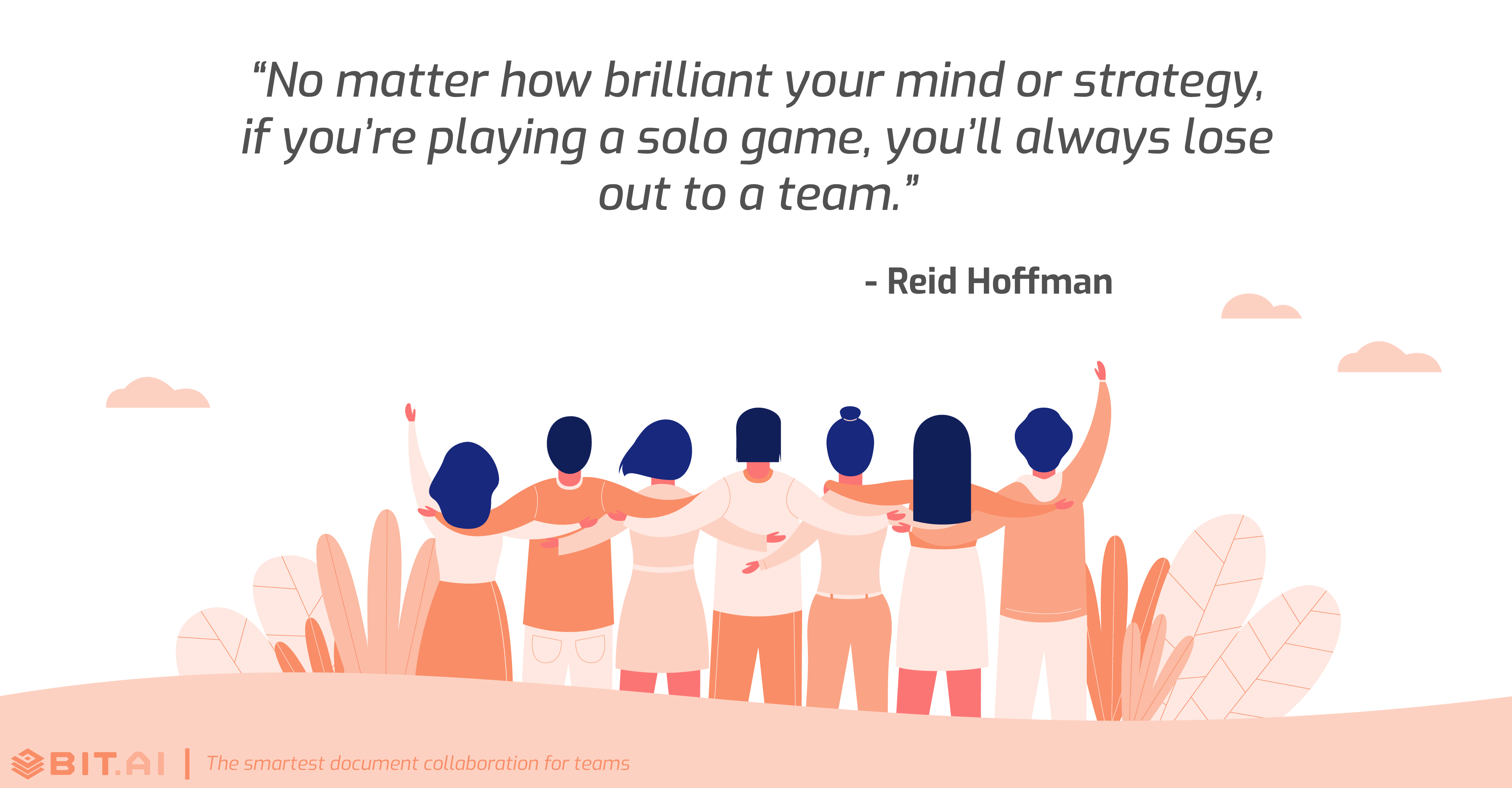 Teamwork collaboration quote by Reid Hoffman
