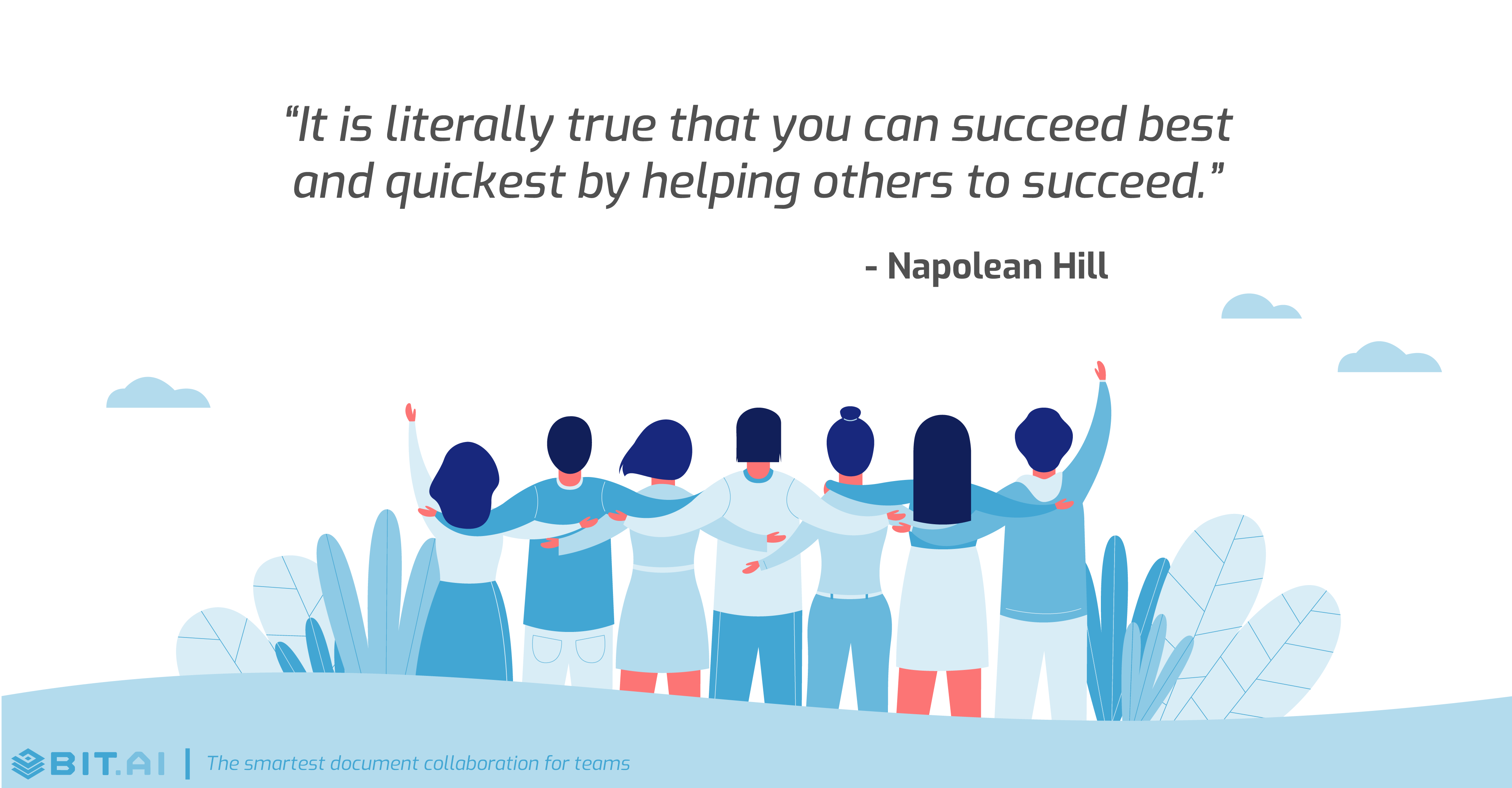 Teamwork collaboration quote by Napolean Hill