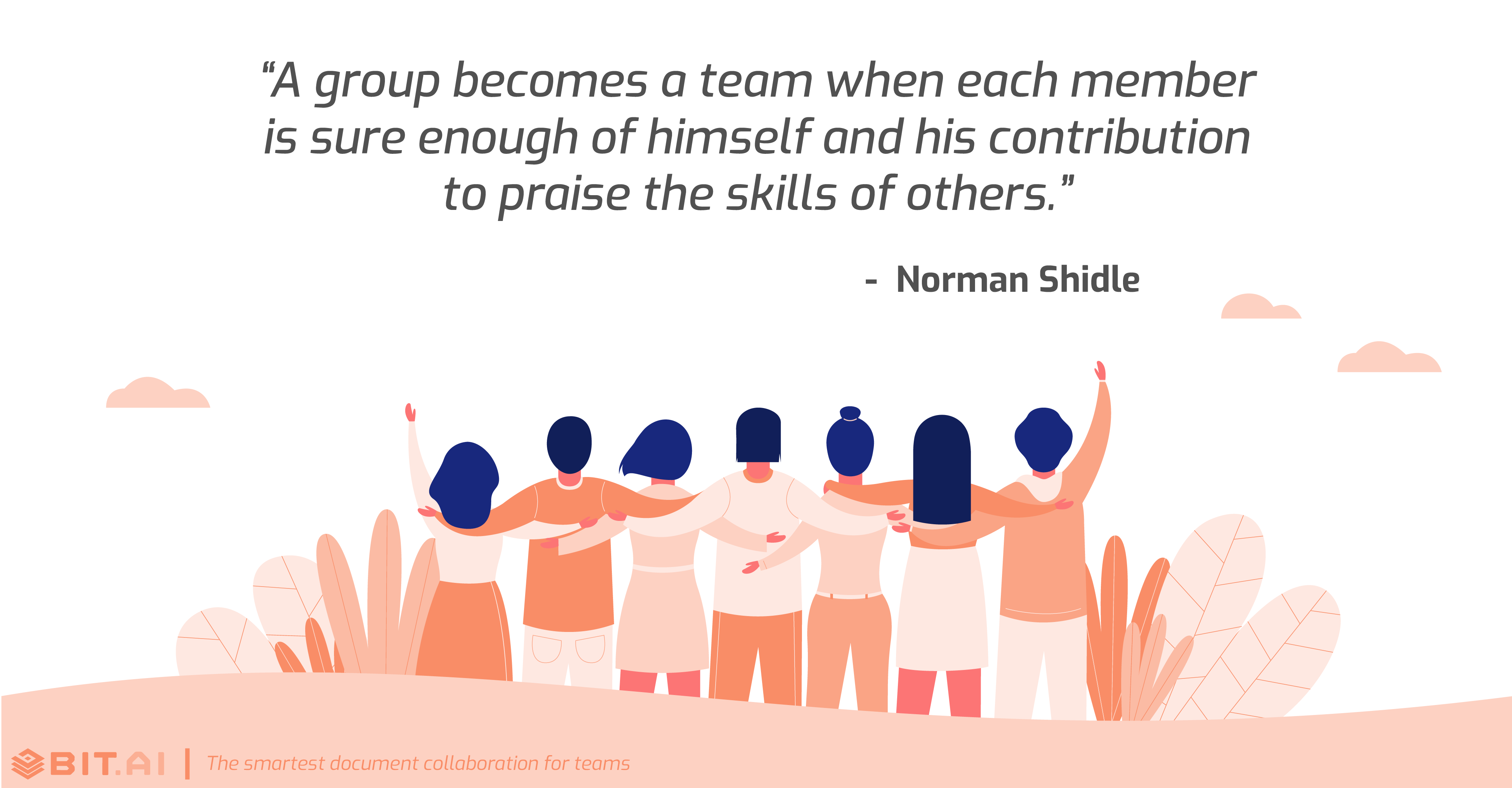 Teamwork collaboration quote by Norman Shidle