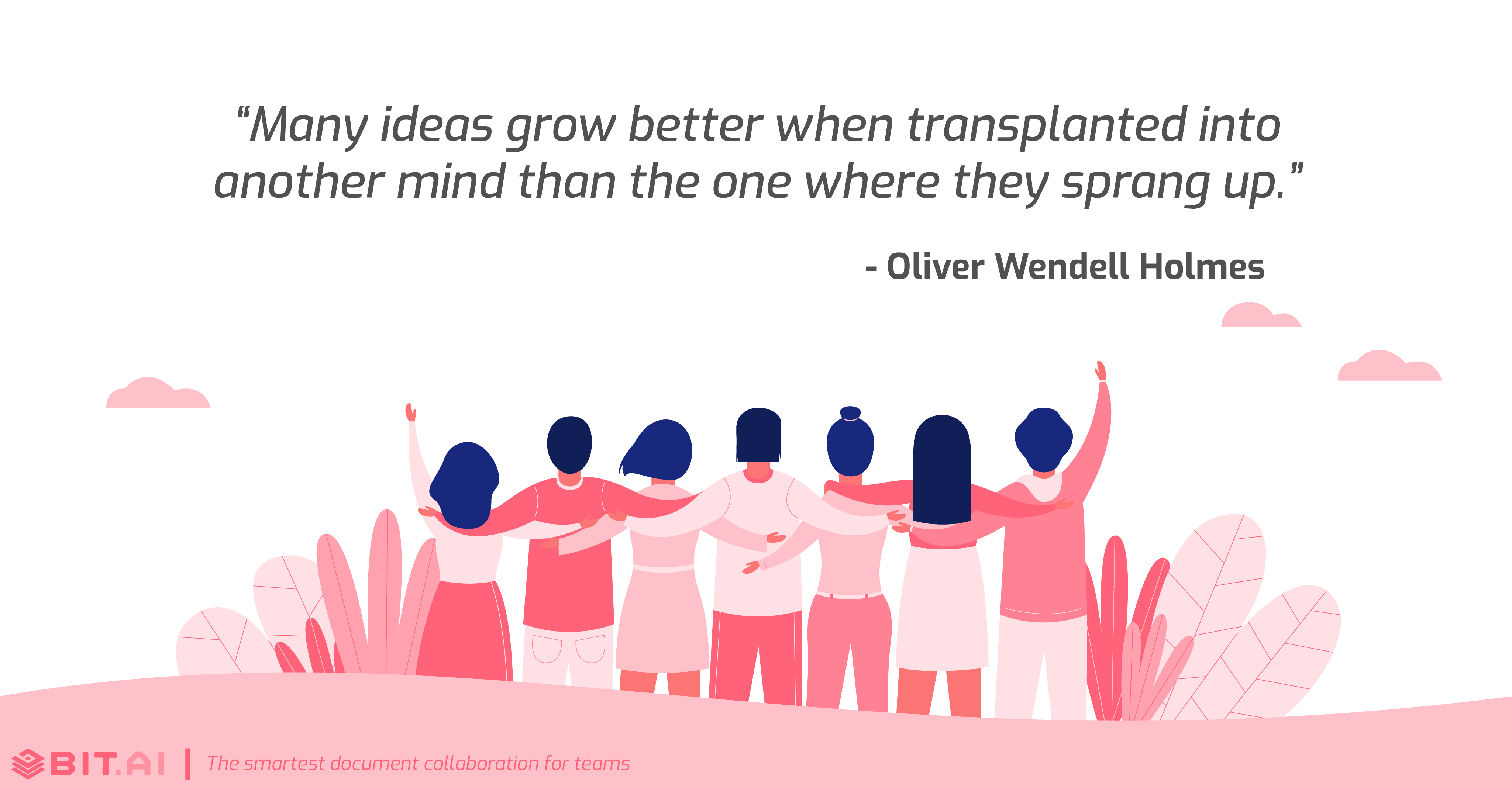 Teamwork collaboration quote by Oliver Wendell Holmes