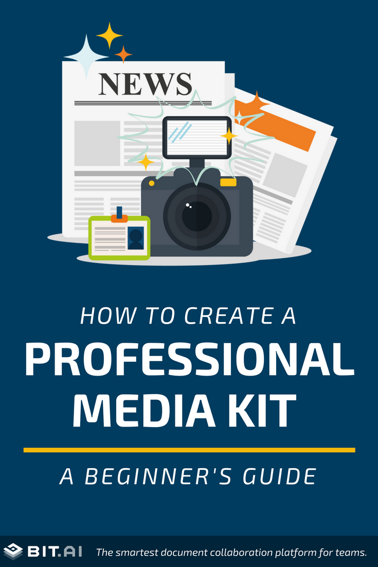 How to Create a Professional Media Kit: A Beginner's Guide - PIN