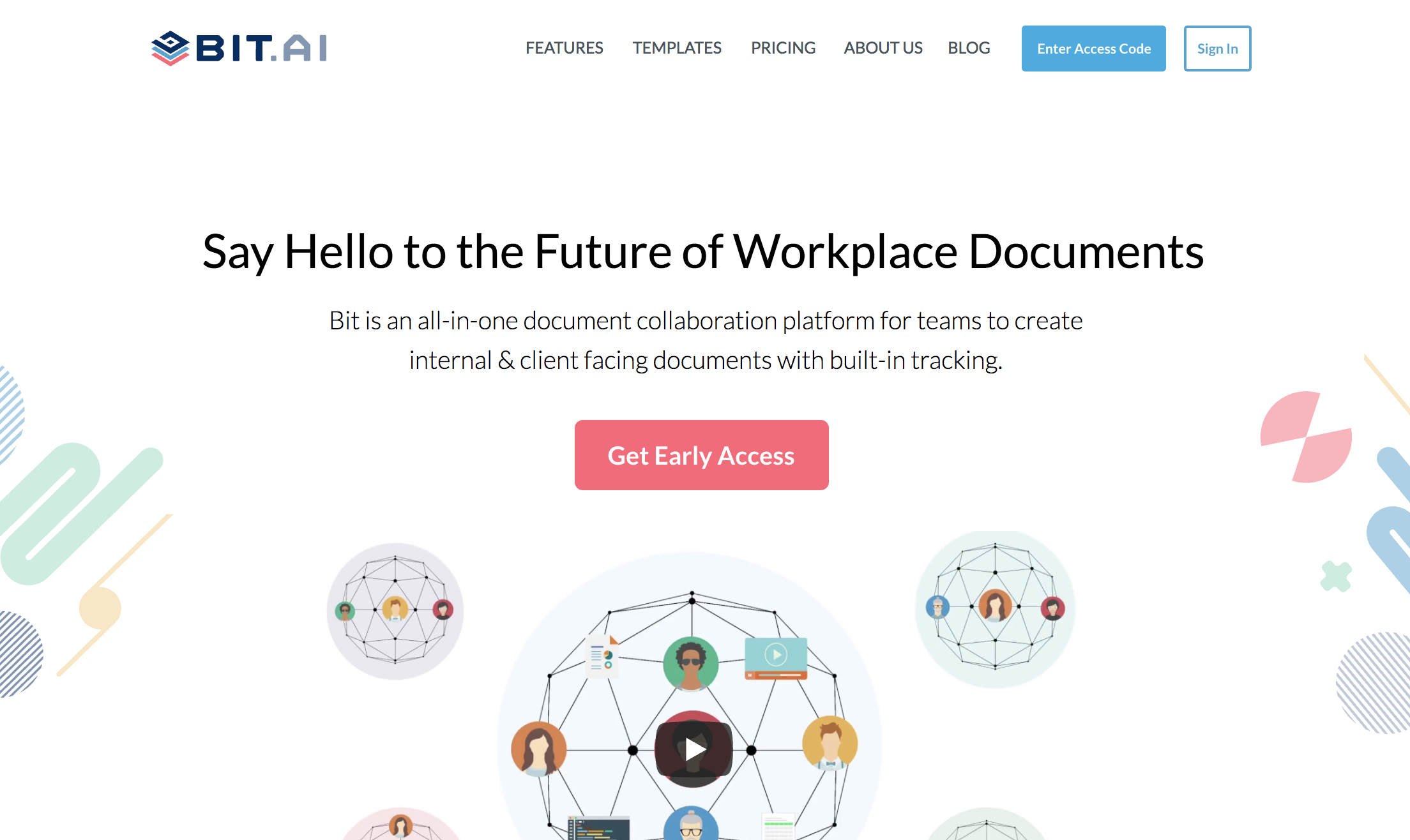 Bit.ai : Document management and collaboration tool