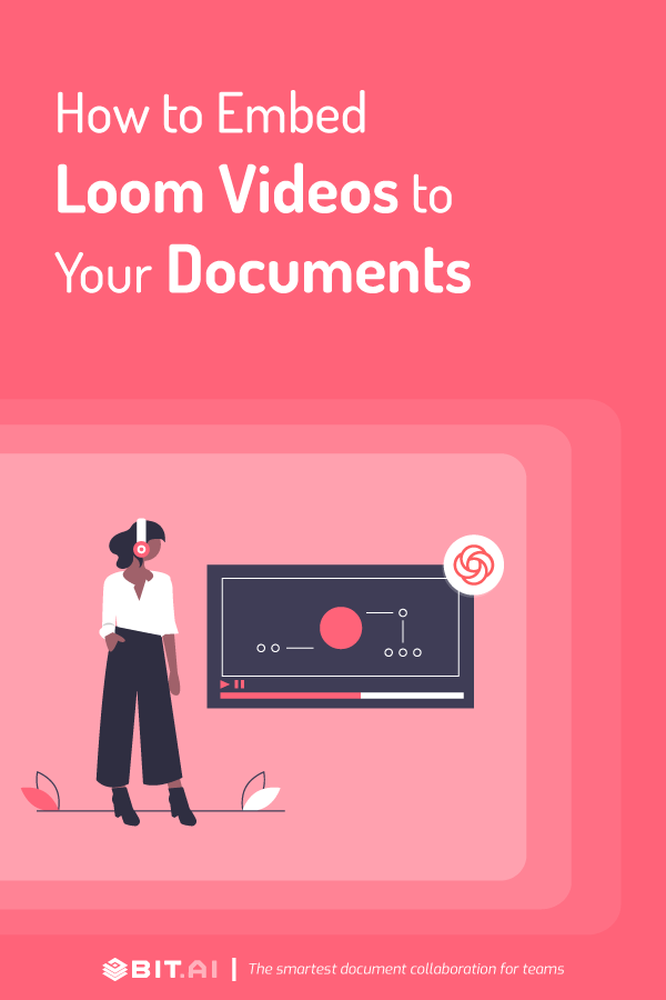 How to embed loom videos to your documents