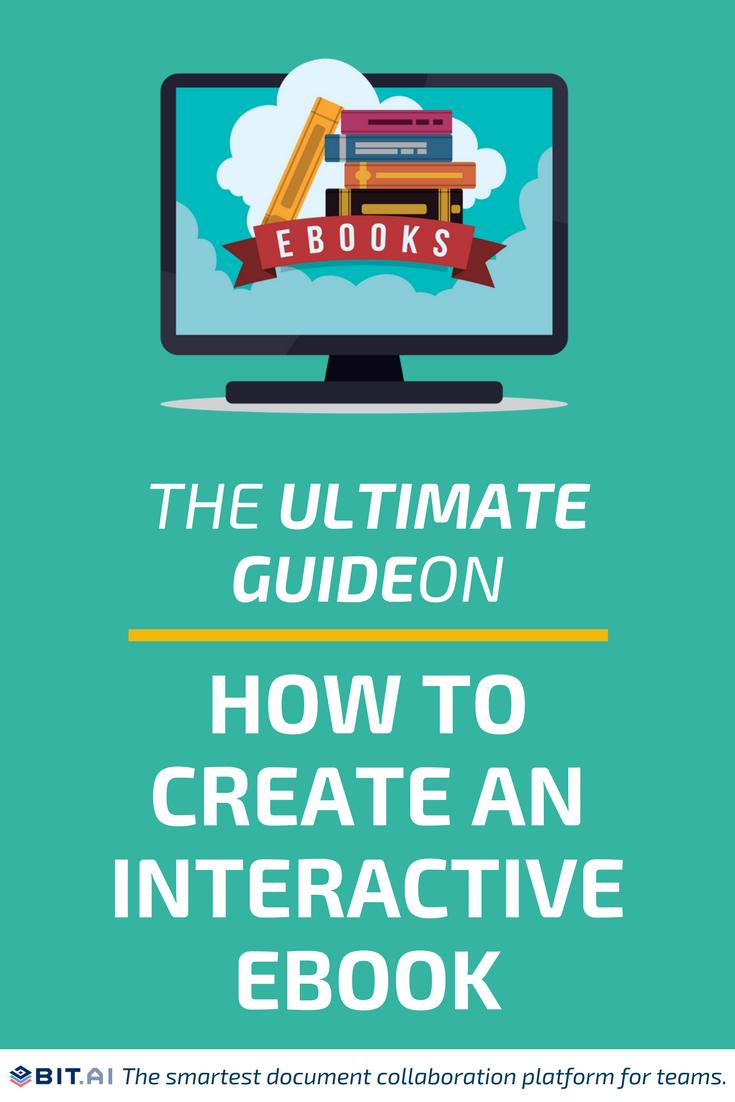 Interactive ebook - pinterest