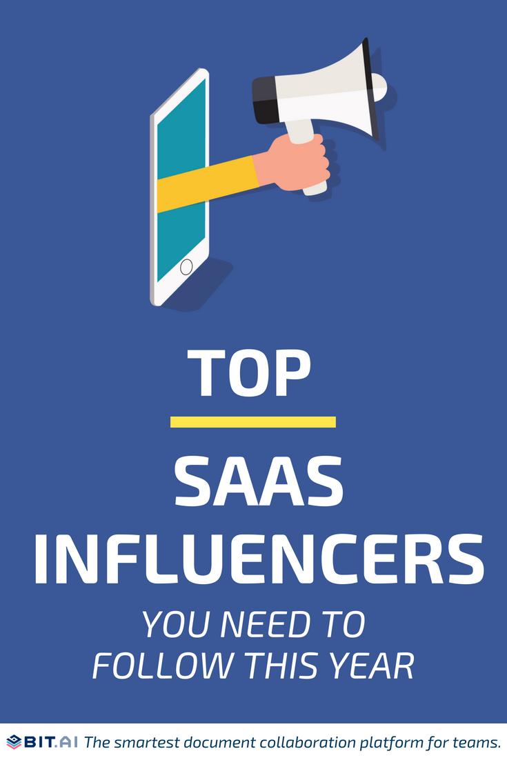 Saas influencers - pinterest
