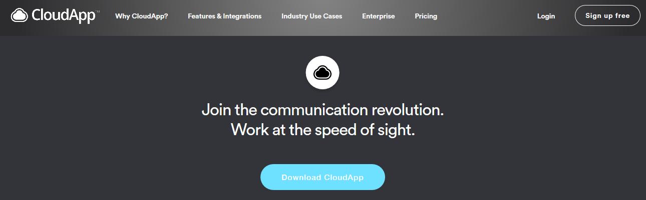 Cloudapp: Screen sharing software