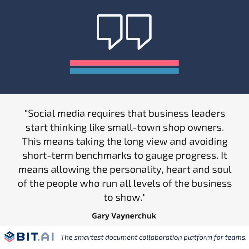 Social media quote by Gary Vaynerchuck