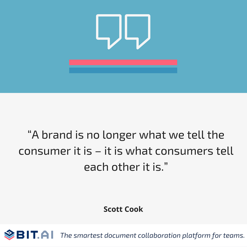 Social media quote by Scott Cook