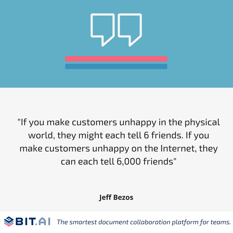 Social media quote by Jeff Bezos