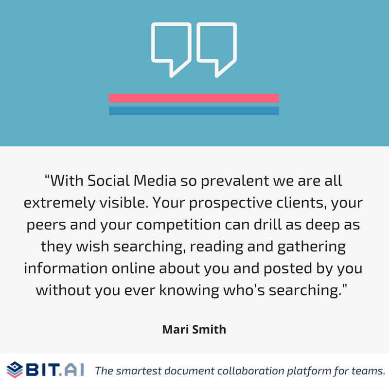 Social media quote by Mari Smith