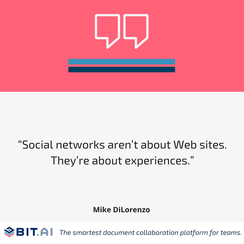 Social media quote by Mike Dilorenzo