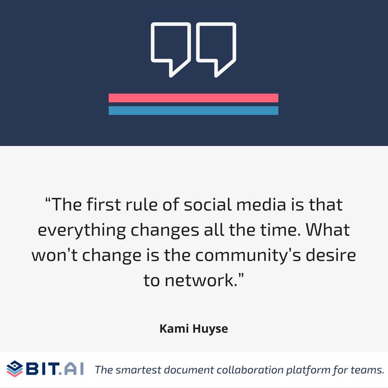 Social media quote by Kami Huyse
