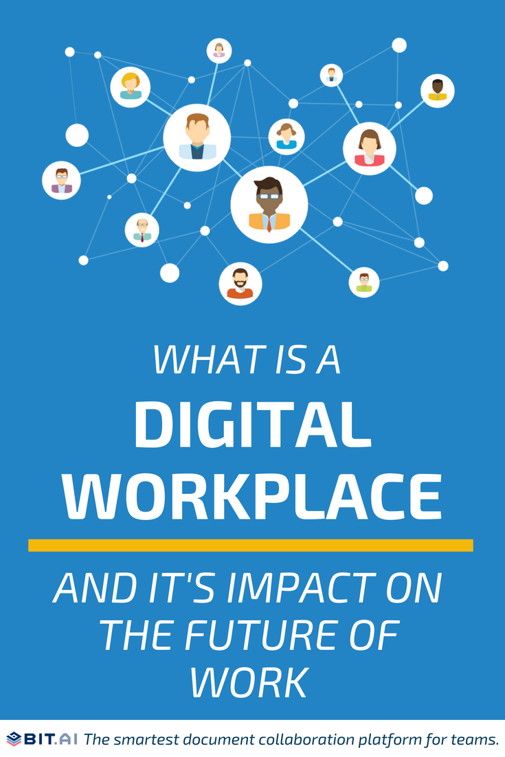 What is a Digital Workplace and It's Impact on the Future of Work - Pinterest image