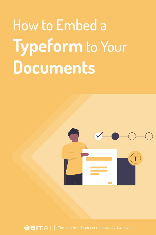 How to embed a typeform to your documents - Pinterest