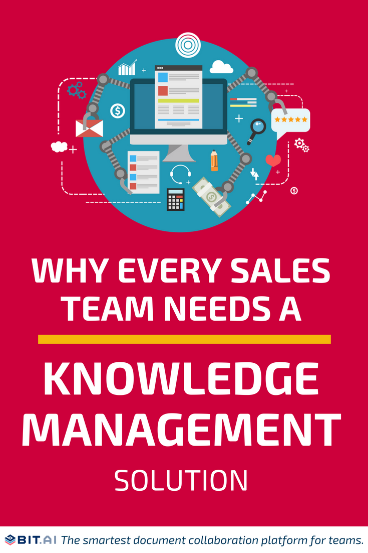Why Every Sales Team Needs a Knowledge Management System - KM (PIN)