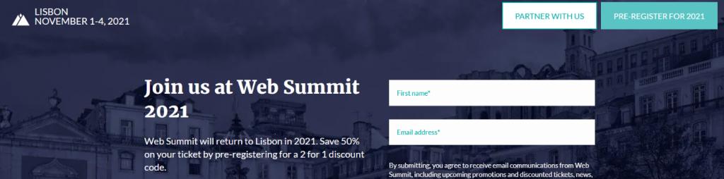 Web summit: Tech summit