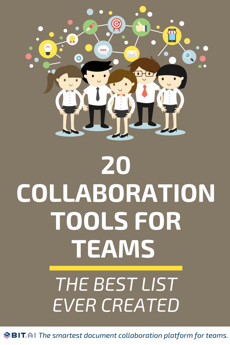 20 Collaboration Tools For Teams - The Best List Ever Created