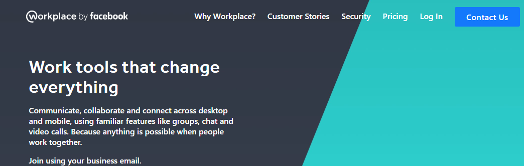 Workplace : Online collaboration tool