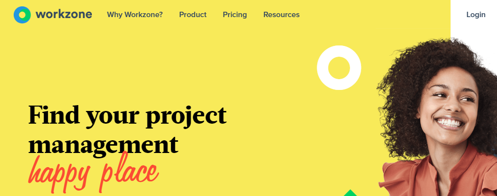 Workzone: Online collaboration tool and project planning software