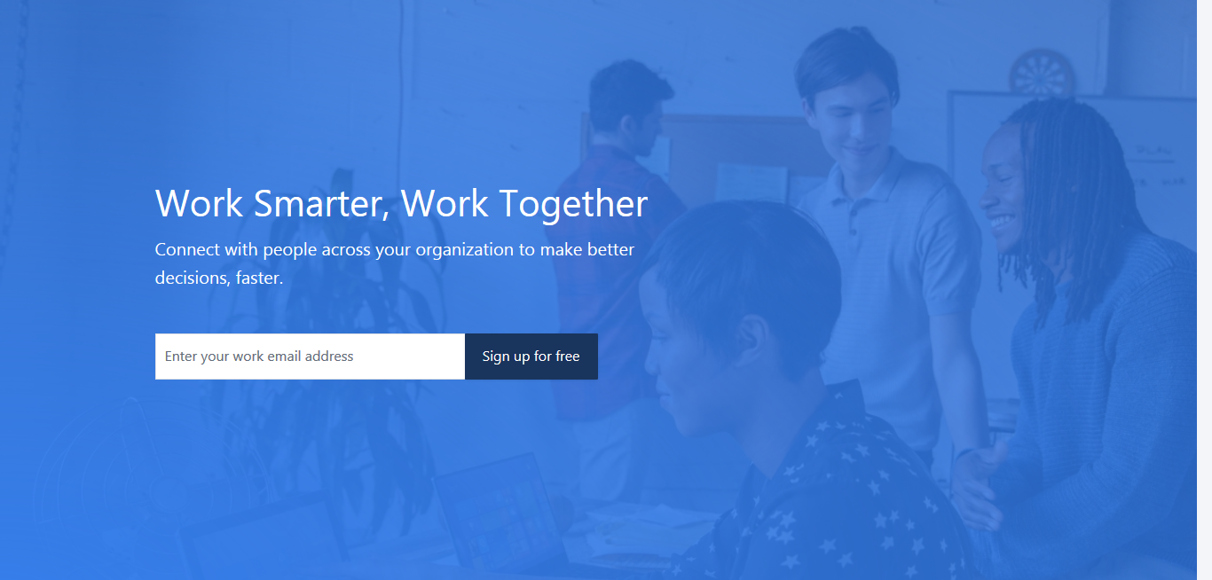 Yammer: Online collaboration tool