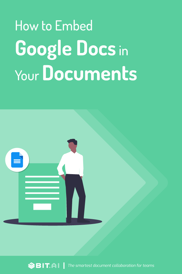 How to embed google docs in your documents
