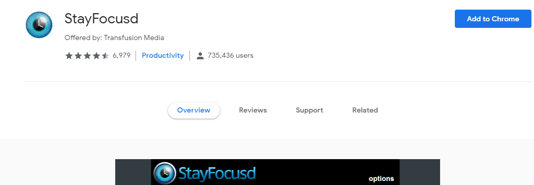 StayFocus : Writing tool