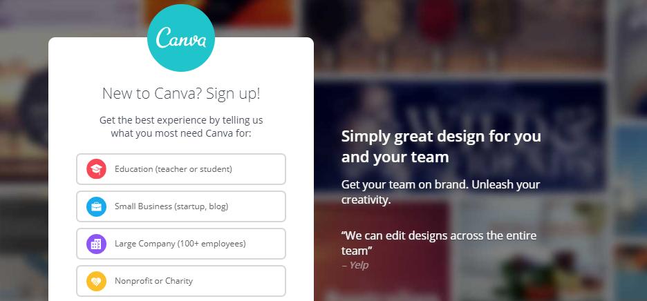 Canva: Design collaboration tool