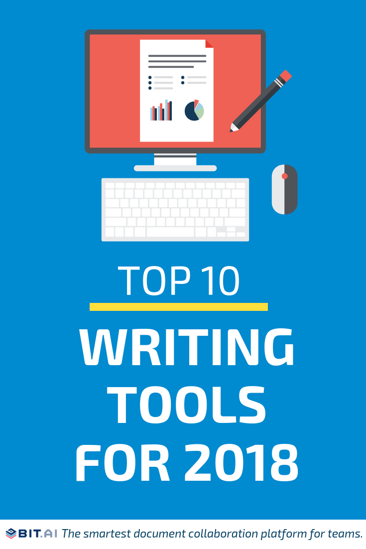 Top Writing Tools (PIN)