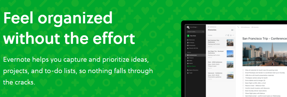 Evernote: Content creation software