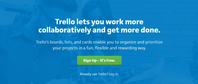 Trello: Online collaboration tool