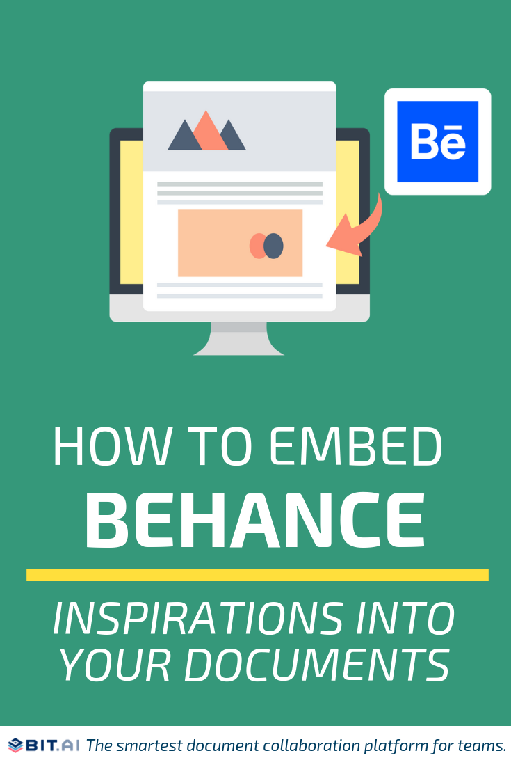 How to Embed Behance Inspirations Into Your Documents (Pin)