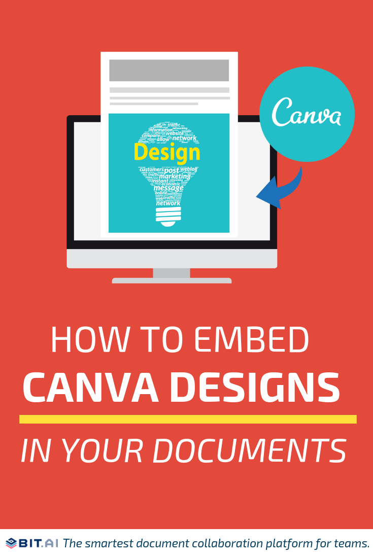 How to Embed Canva Designs into Your Documents - Canva (Pin)