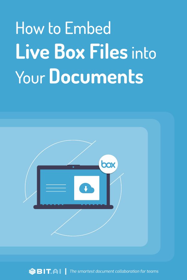 How to embed live box files inside documents - Pinterest image