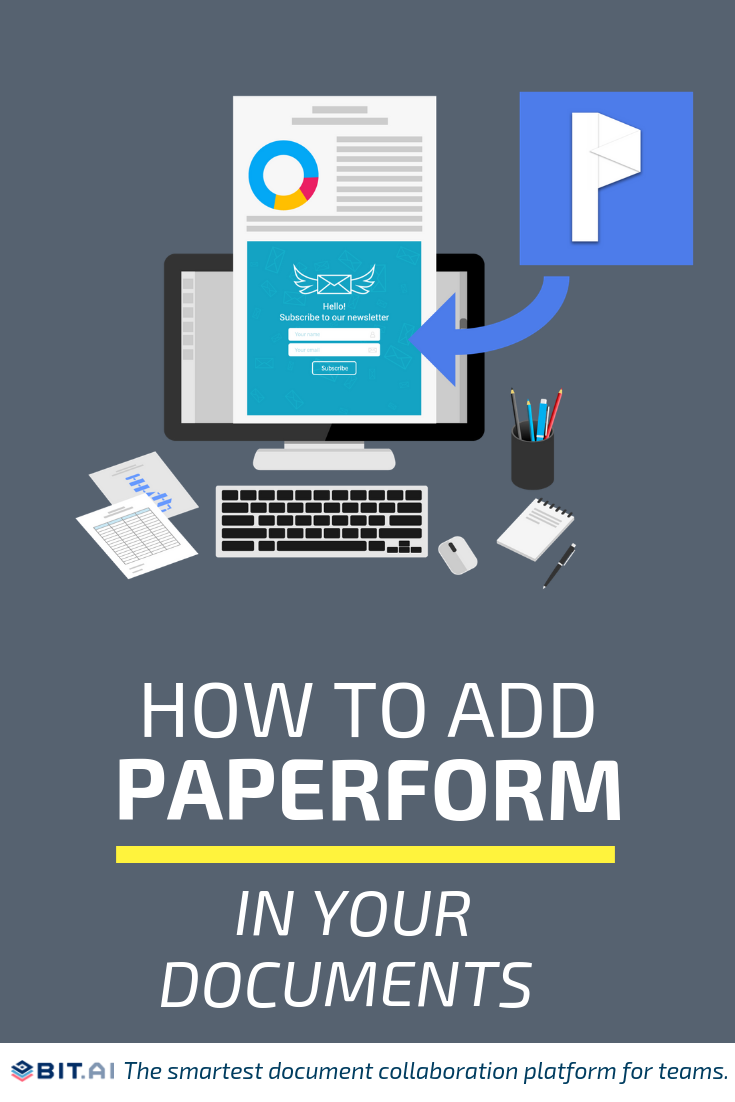 How to Embed Paperform (Pin)