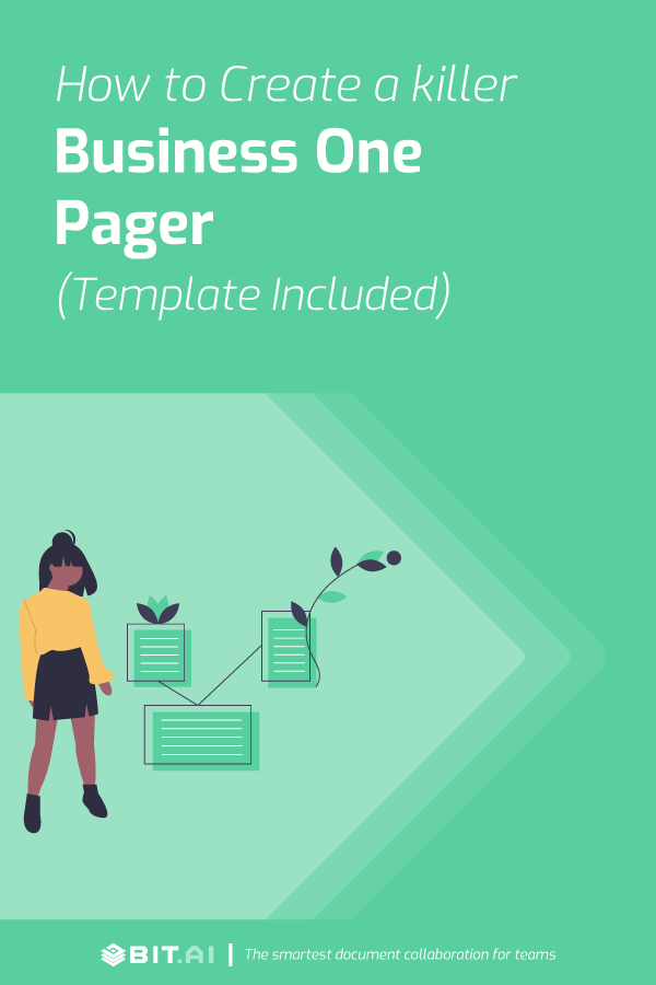 How to Write an Impressive Business One Pager (New-Age Template) - One Pager (feat)