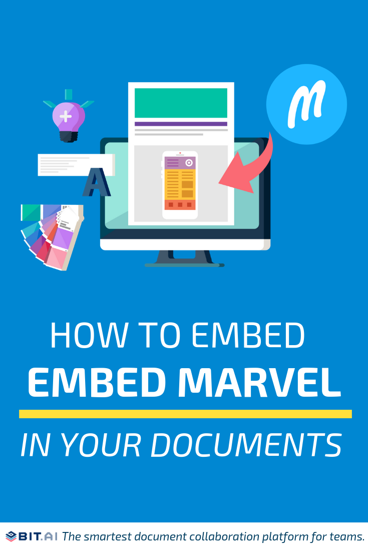 How to embed Marvel (PIN) (1)